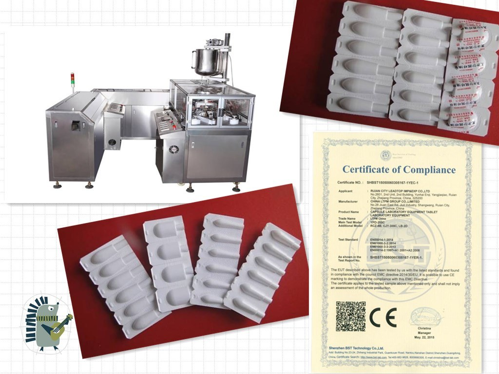 Pharmaceutical Equipment/Suppository Filling and Sealing Machine Manufacturer