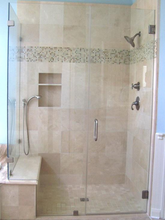 Tempered Glass Shower Enclosure Bathroom Shower