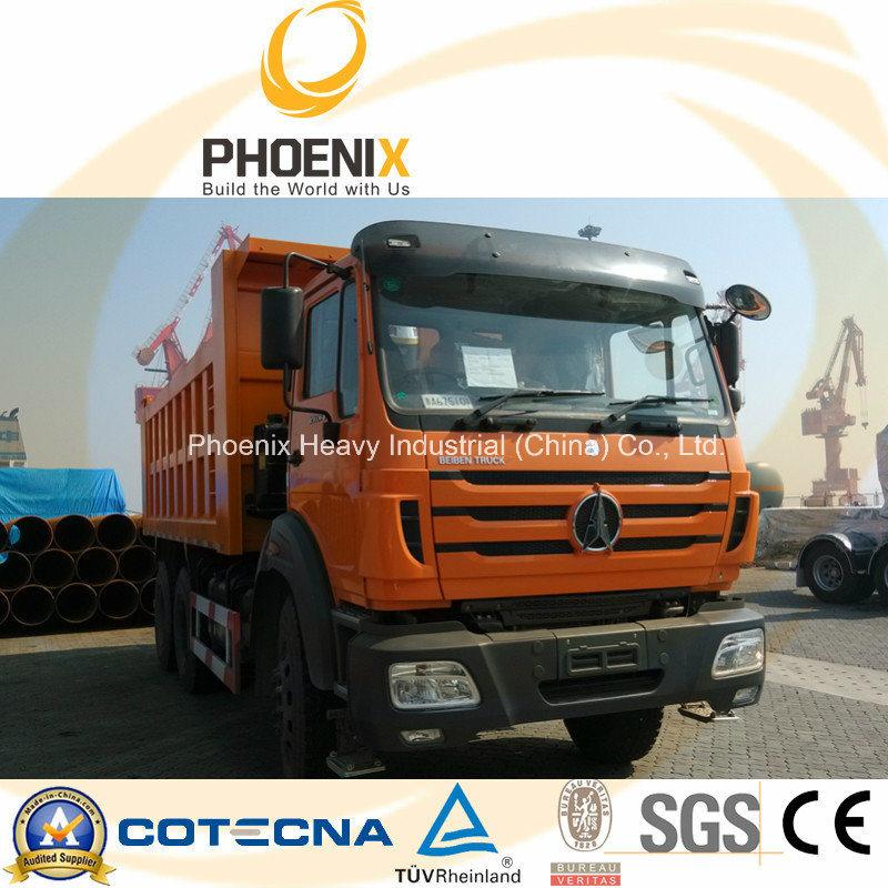 Beiben Tipper Dump Truck 6X4 340HP with Mercedes Benz Technology