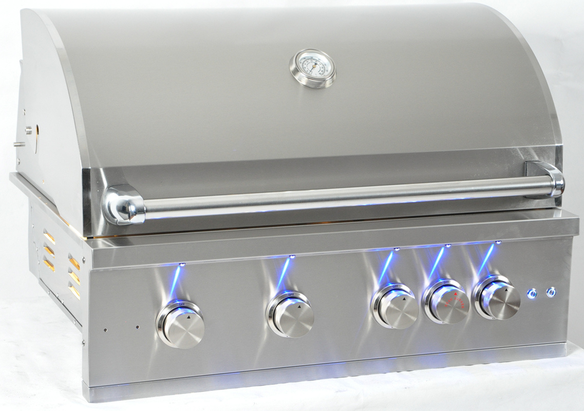 Outdoor 304 Stainless Steel Built-in Gas Barbecue Grill