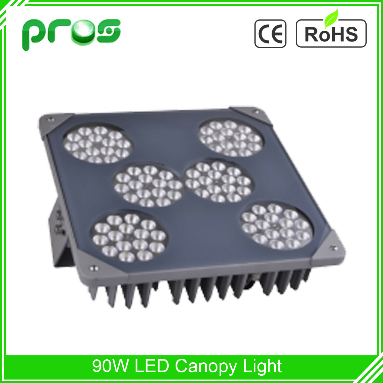 90W Explosion Proof LED Gas Station Light