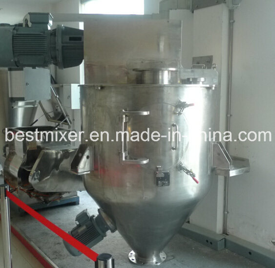 Vertical Ribbon Mixer with Perfect Mixing Solution for Battery Industrial