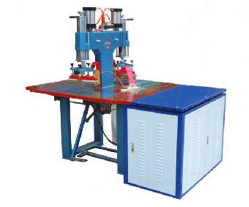 5kw Double Head High Frequency Welding Machine for Powder Puff Making, Ce Approved