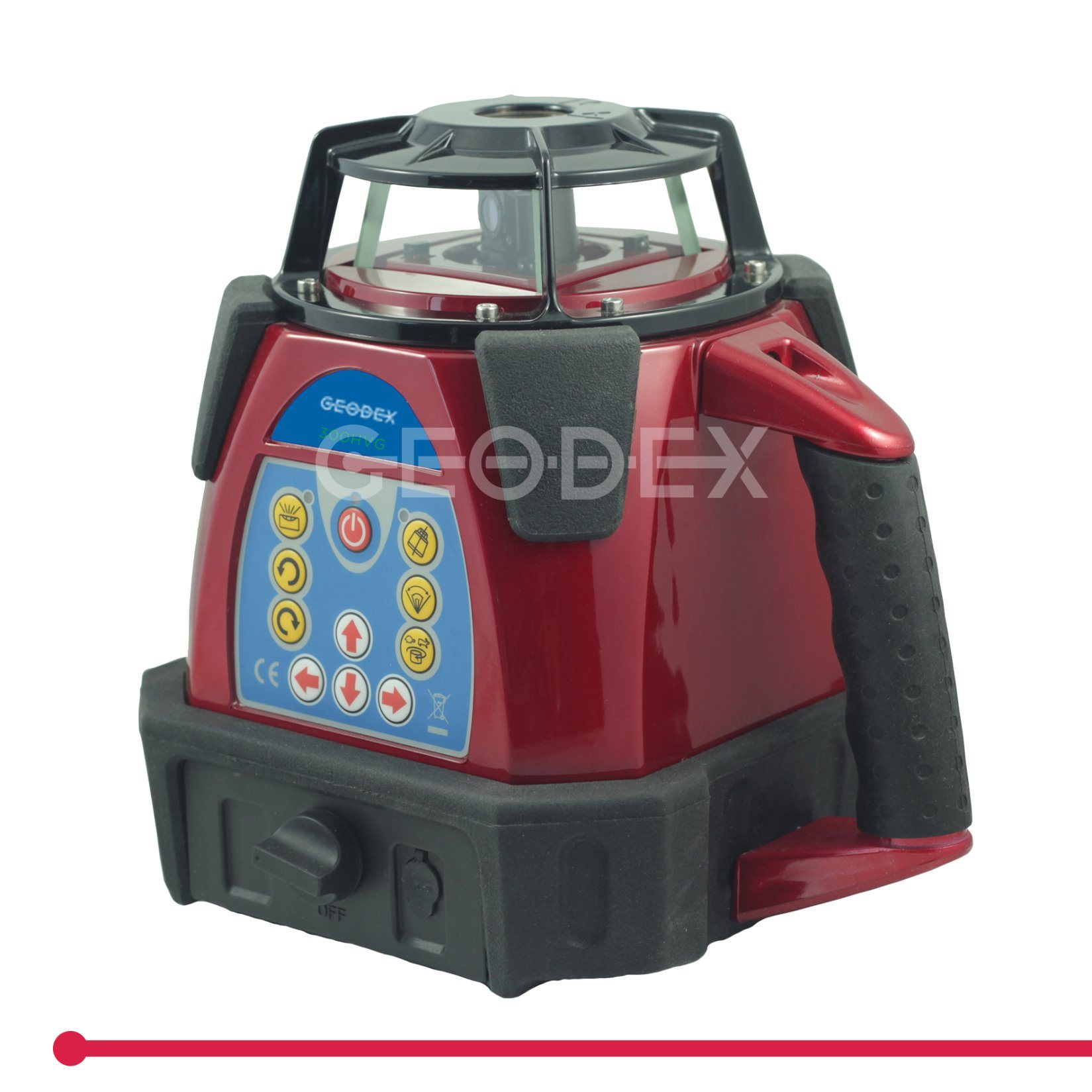 300hvg Laser Level with Dry Cell Pack Automatic Rotation Leveling