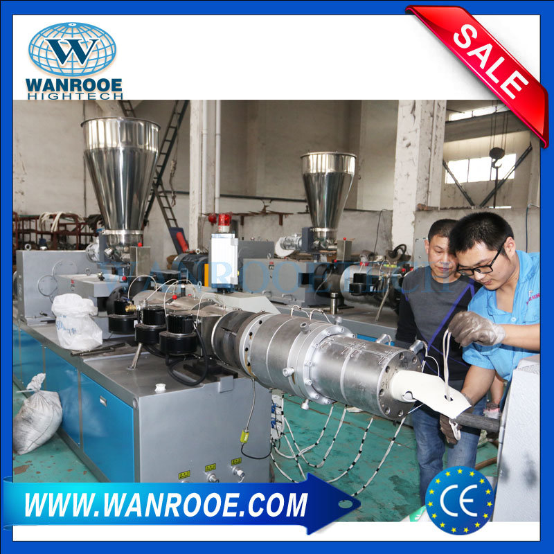 Sj Plastic Pipe Extrusion Line PVC Pipe Extruder Machine