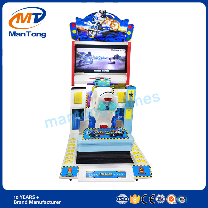 Hot Sale Street Moto Exciting Racing Game Machine in HD Screen Coin Operated Machines