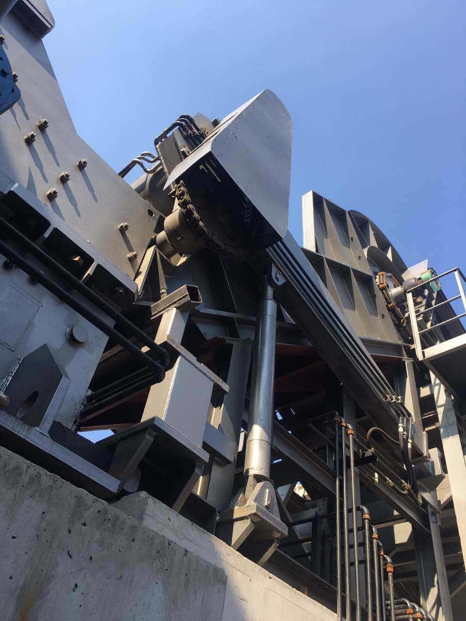 PSX-4500 Industrial Metal Shredder Line