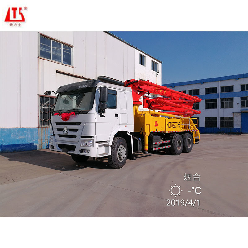 Concrete Pump with Pump Truck Made in Ch...