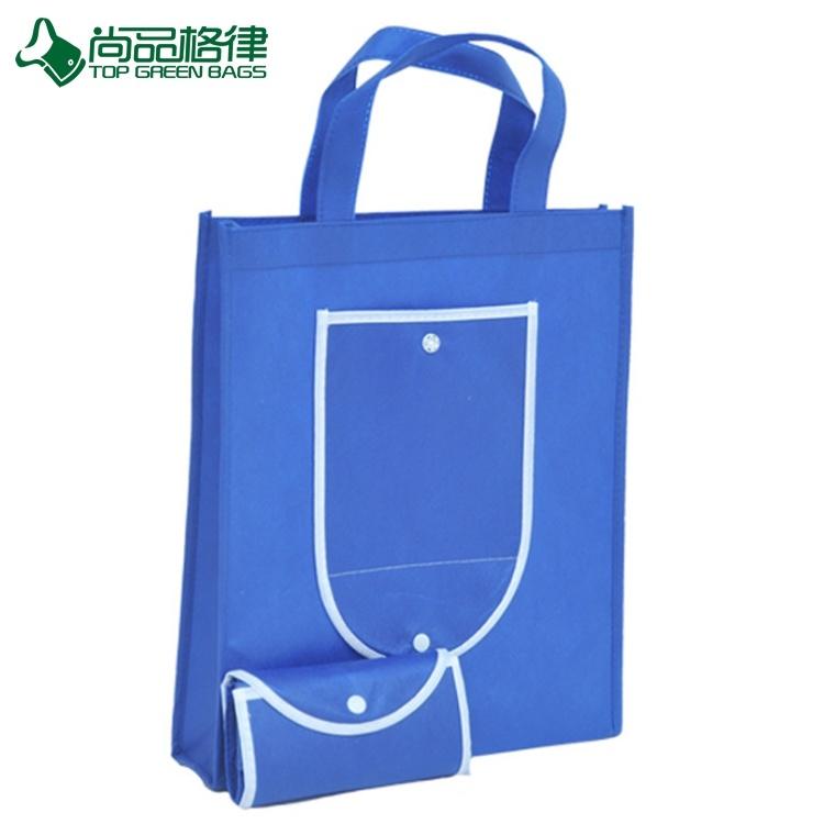 2017 Promotional Custom Wallet Reusable Folding Shopping Bags