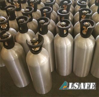 0.5liter to 30liter Aluminium Fill CO2 Tank