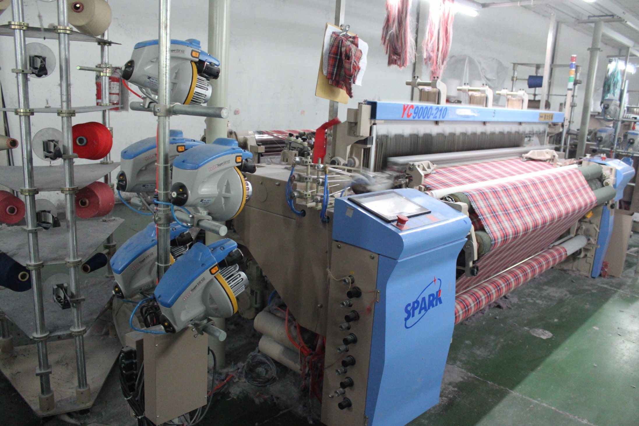 Colored Weaving Machine Air Jet Power Loom