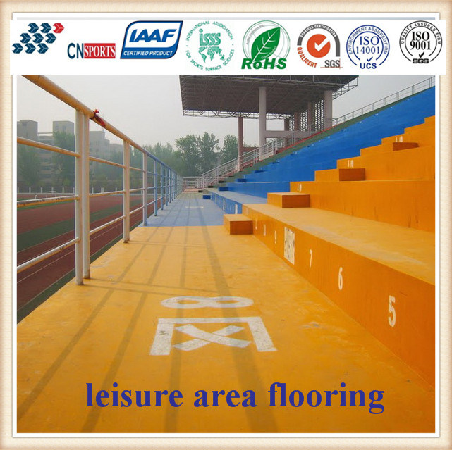 Rapid Freezing Type Leasure Area Flooring with 20min Drying Time