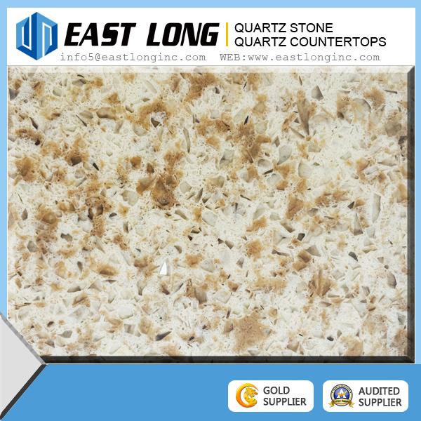 Double Color Artificial Stone Quartz Slab Quartz Stone Building Material