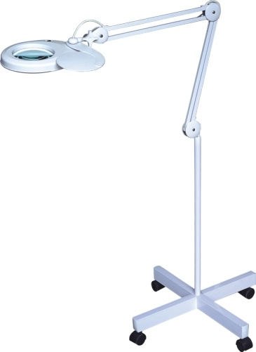 China floor stand magnifier lamp china table magnifier for Floor standing led magnifying lamp