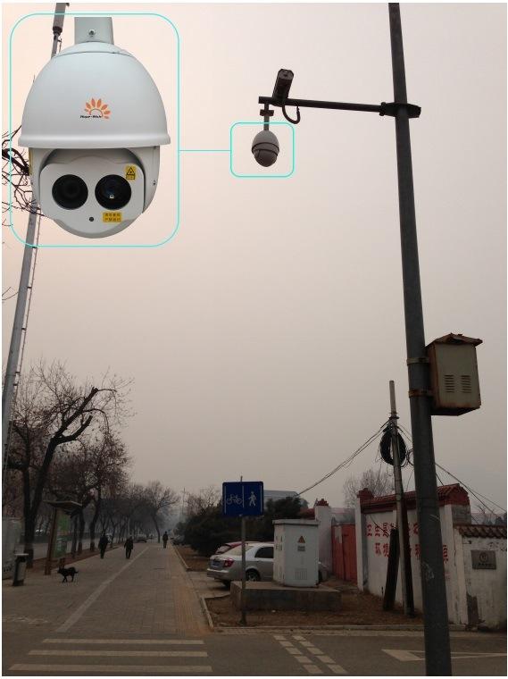 Scanner IR Laser Speed Dome Camera