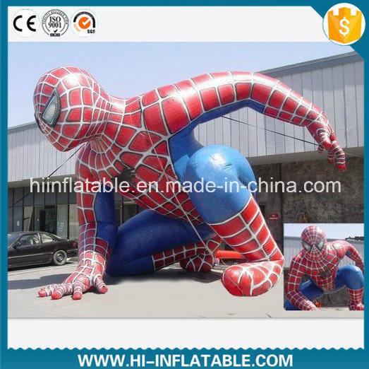 Custom Made Inflatable Film Cartoon, Inflatable Spiderman Model, Inflatable Figure Cartoon Model for Sale