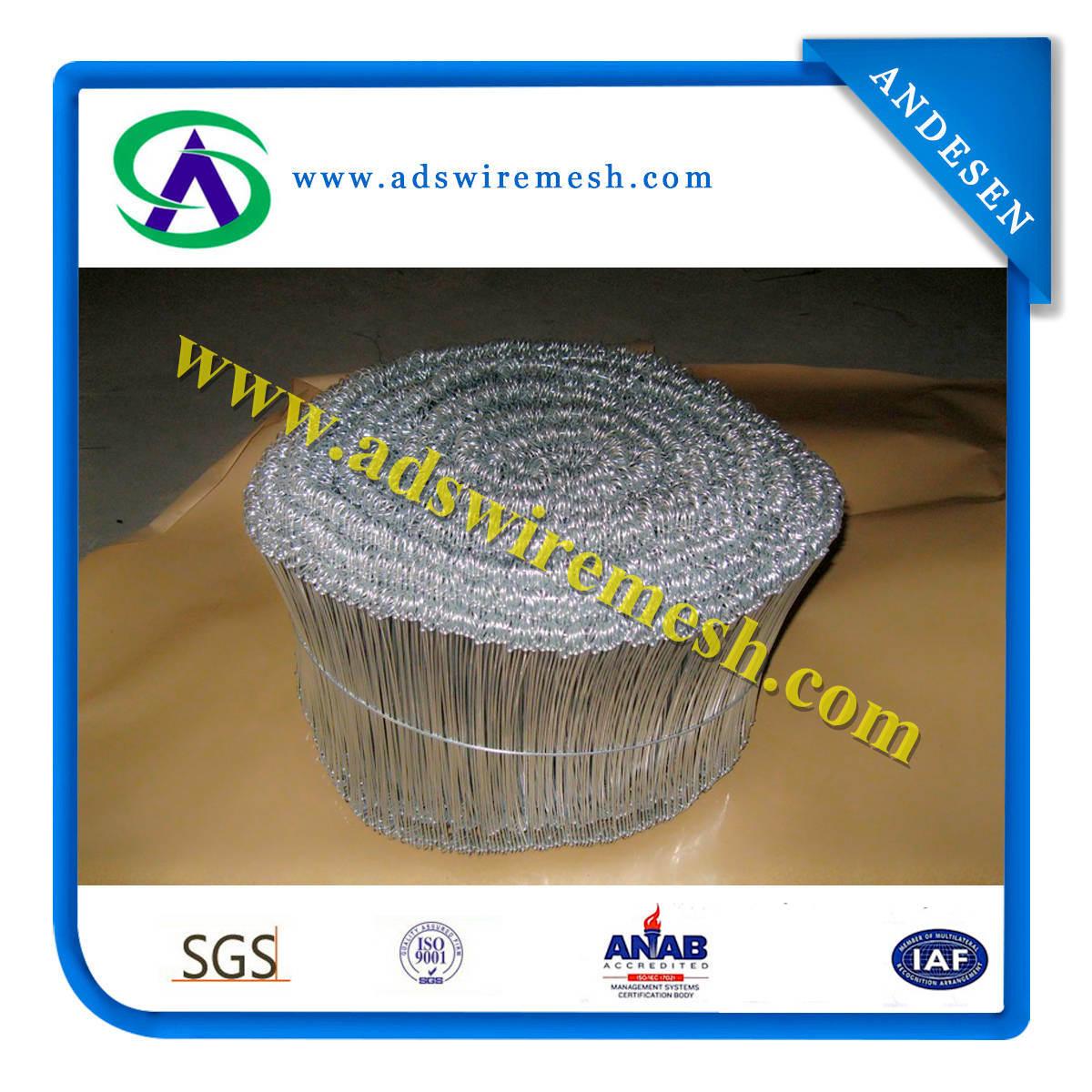 Galvanized Loop Tie Wire (ISO9001)