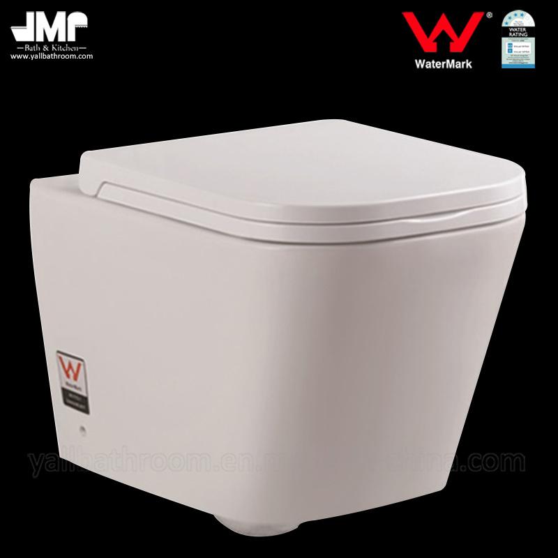 6016 Australian Standard Sanitay Ware Watermark Bathroom Ceramic Toilet