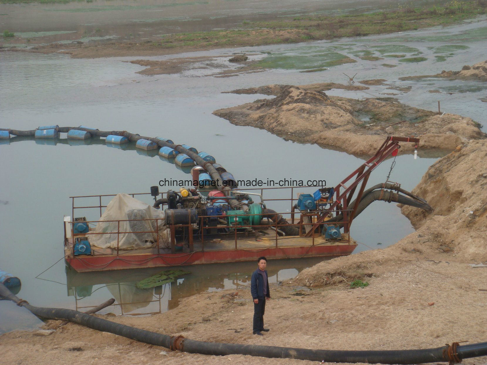 Sand Jet Suction Digging Dredger/Sand Dredger for Iron Sand Mine pictures & photos