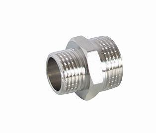 Chrome-Plated Nipple mm for Brass Screw Fittings