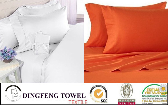 100% Cotton, Polycotton or Microfiber Cotton Material Home Bedding Set, Verious Size Twin Full Queen King