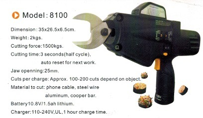 Power Cable Tool for 100mm2 Cable Cutter