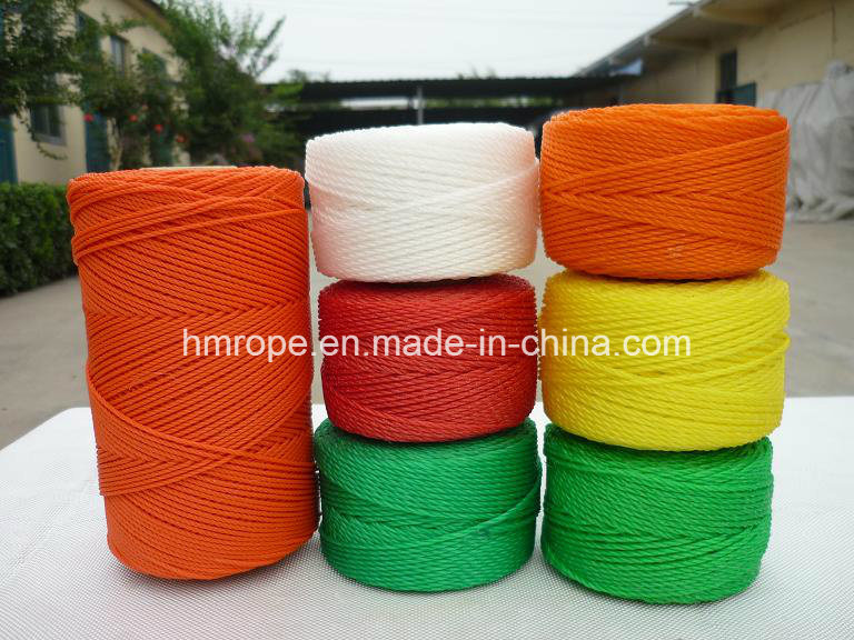 PE 3 Strands Twisted Twine PP Monofilament Building Line