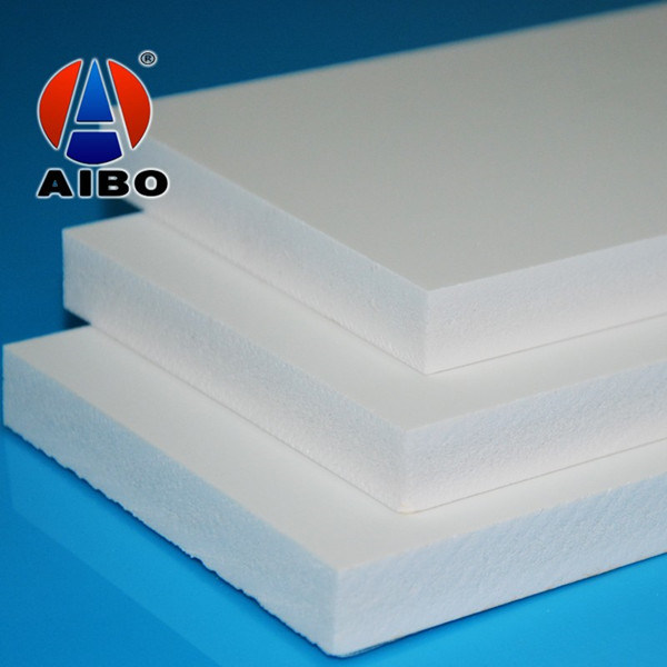 Recycle White Decorative Wall Panel PVC Plastic Sheet