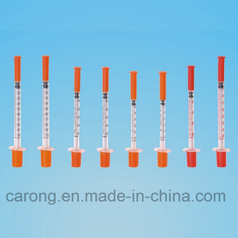 High Quality Safety Insulin Syringe for Single Use