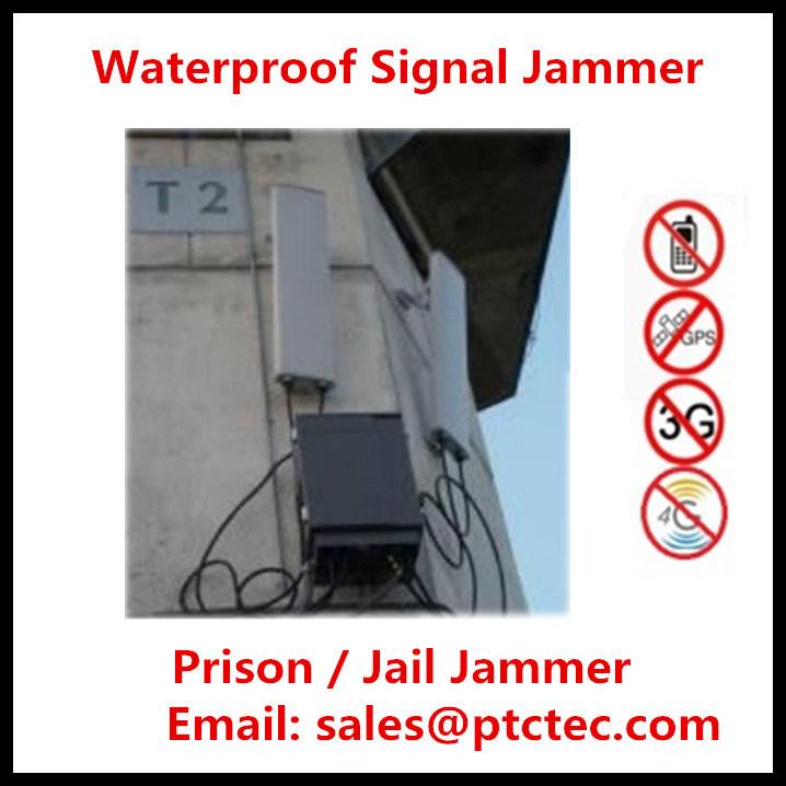 High Power Prison Jammer, Waterproof Jammer / Jail Jammer Prison Signal Jammer