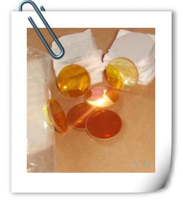 CVD Laser Znse Selenide Lens, CO2 Laser Focusing Optical Lens