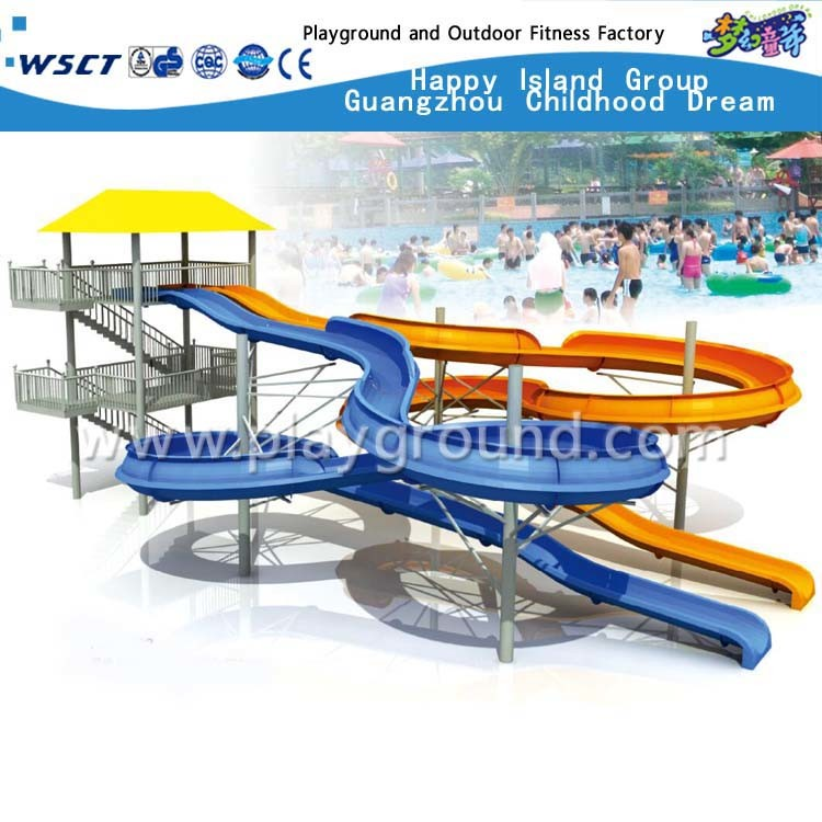 Theme Water Park Water Slide for Kids and Adult (HD-6501)