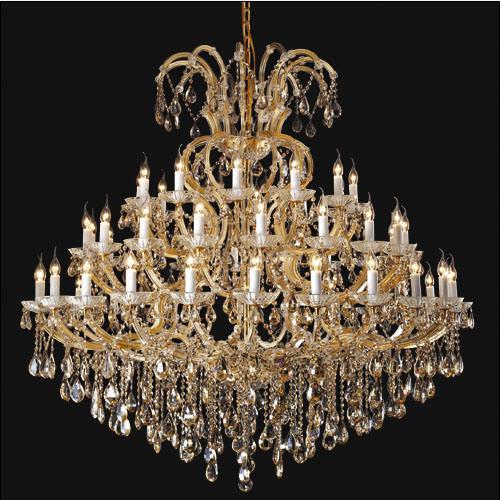 Luxury Project Hotel Crystal Chandelier Lamp (AQ50003-24+12+8+1)