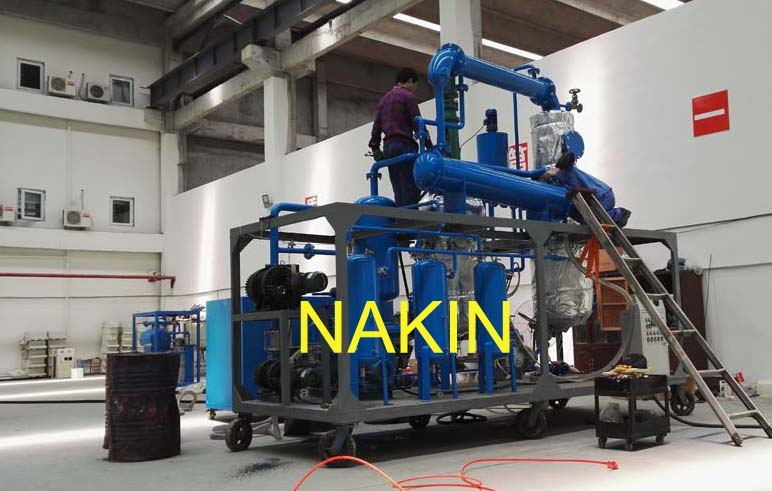 Jzc-1 Ton/Day Black Waste Lube Oil Filtration, Black Waste Engine Oil Distillation