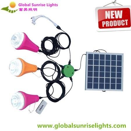 Solar Camping Lamp, Solar Emergency Light, Rechargeable Light, LED Flashlight