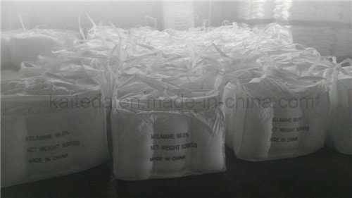 Industrial Grade White Crystalline Melamine 99.8% for Resin