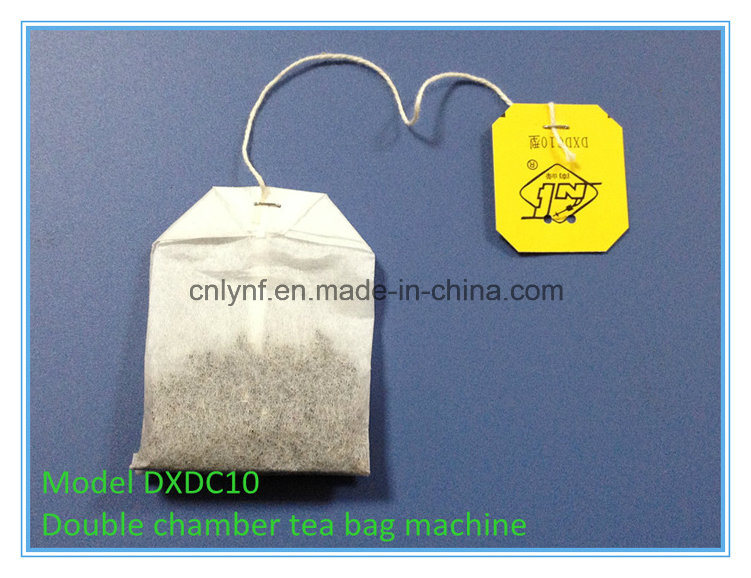 Automatic Double Chamber Tea Bag Packing Machine 7200bags Per Hours/