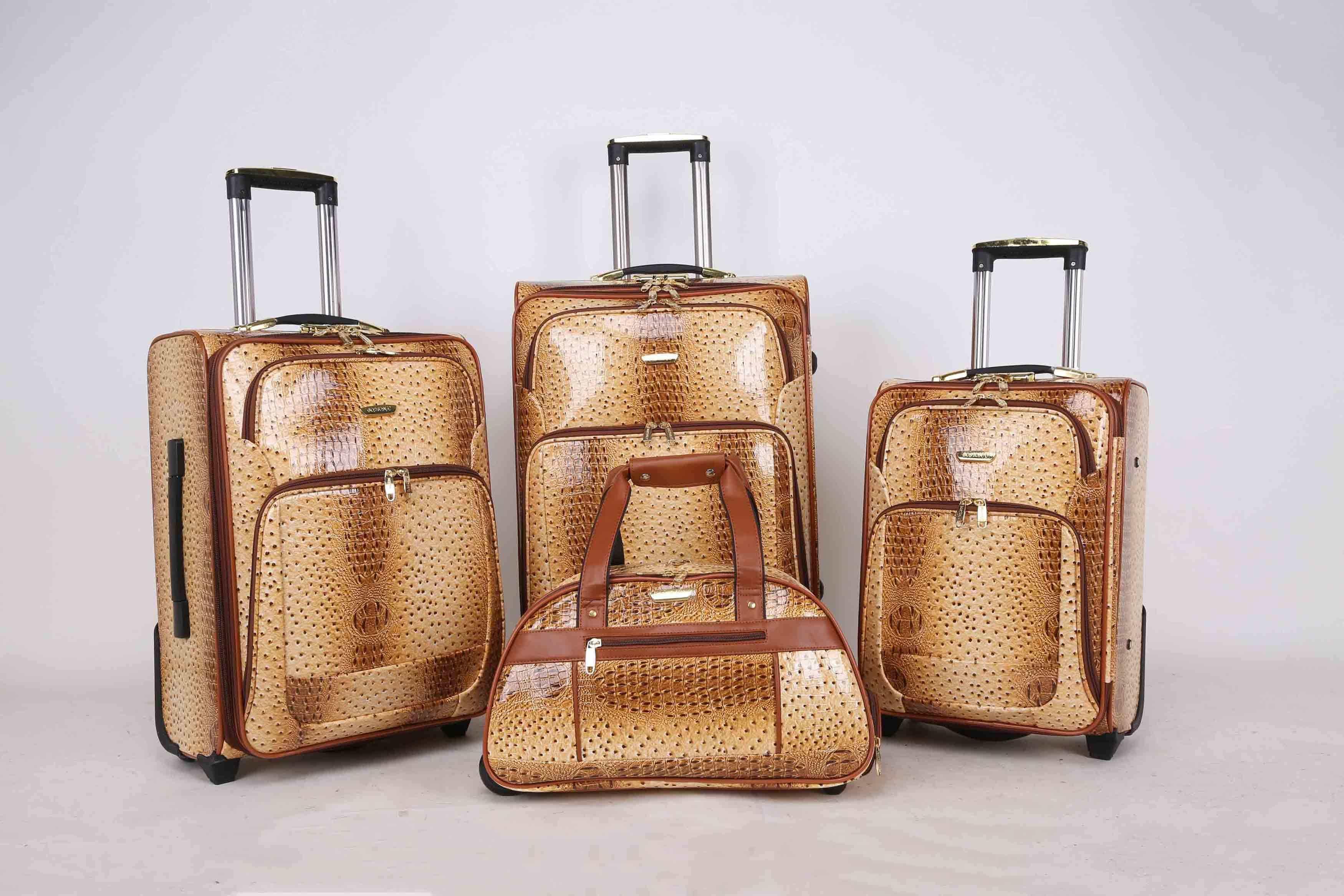 Africa Market Hotsale Luggage Trolley Case Jb010