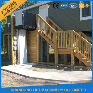 Hydraulic Outdoor or Indoor Elevator 1 Floor for Elderly
