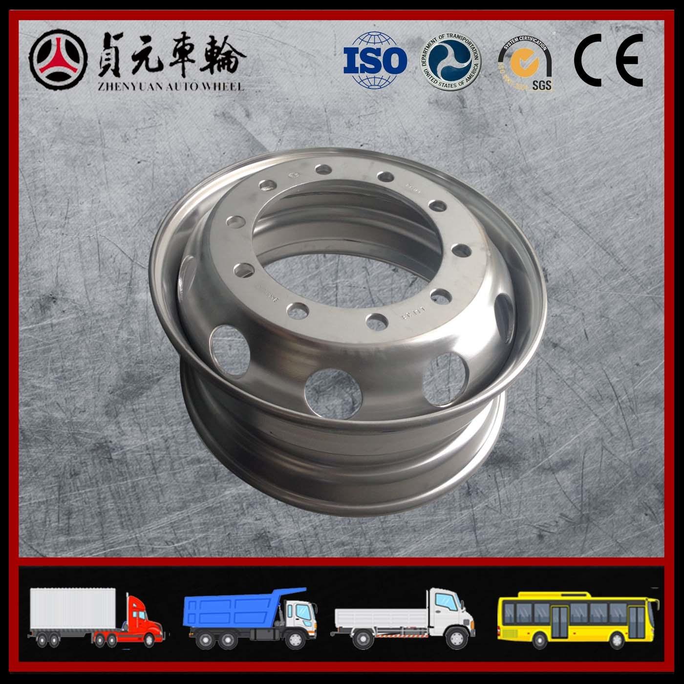 Steel Wheel From Zhenyuan Wheel/FAW-Supplier (17.5*6.0)