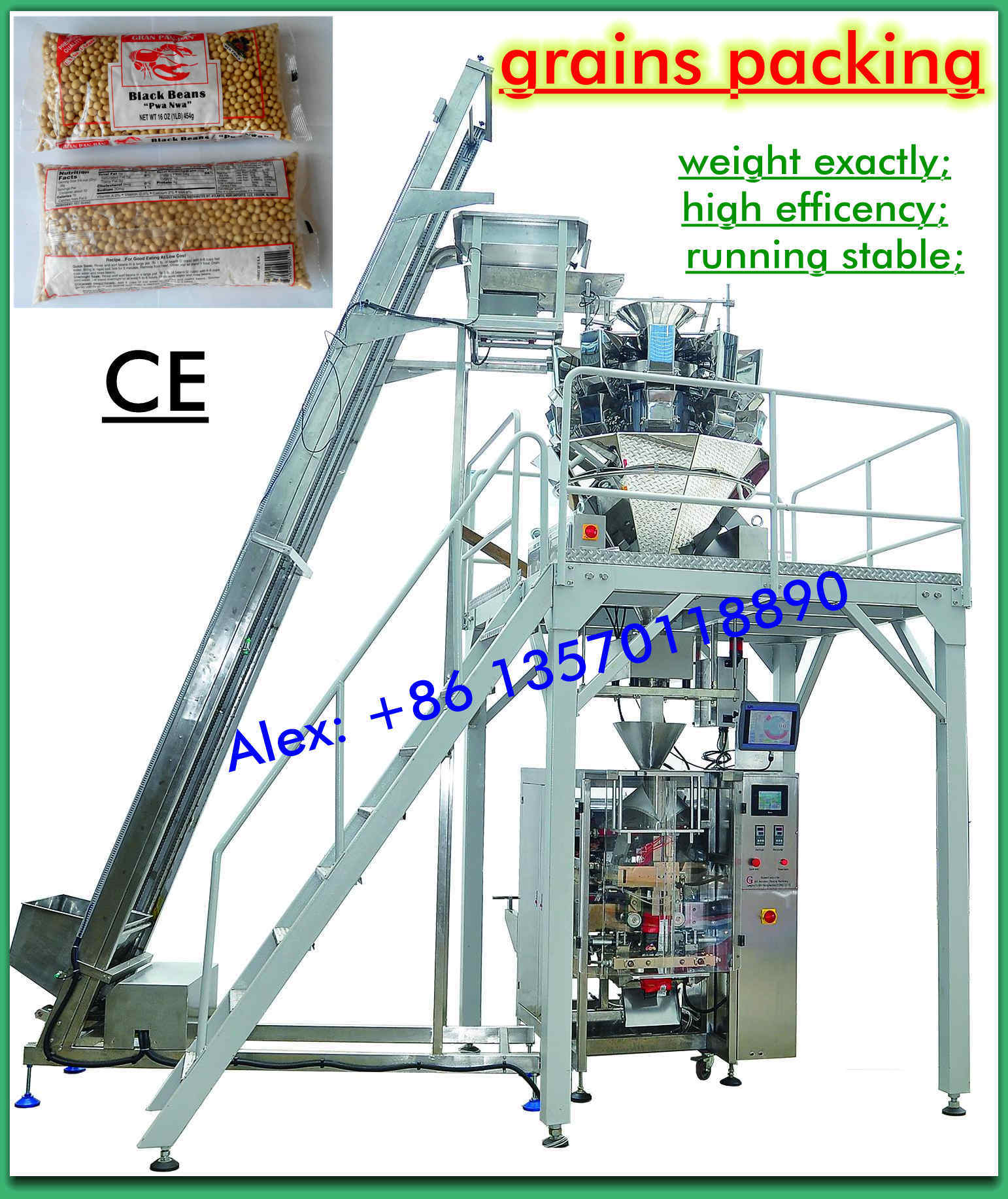 Automatic Grain Packing Machinery