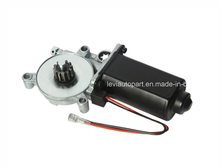 DC Motor Car Power Window Motor with 12-Tooth Gear
