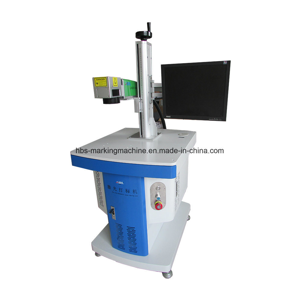 20W Fiber Laser Marking Machine for Metal and No Metal Marking