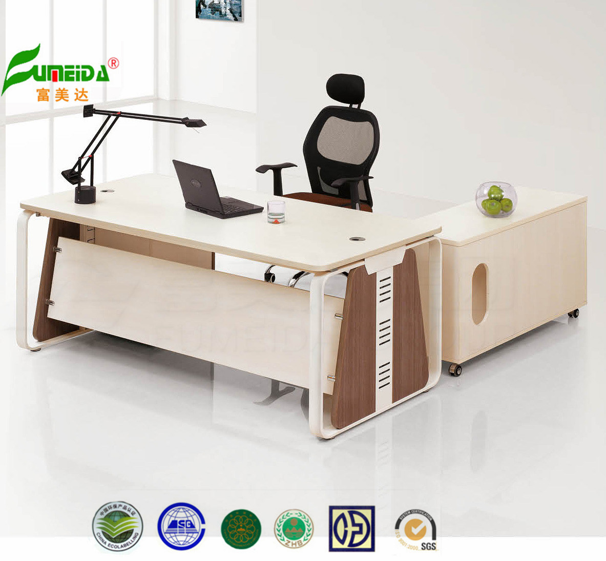 MDF Executive Table Wooden Office Furniture