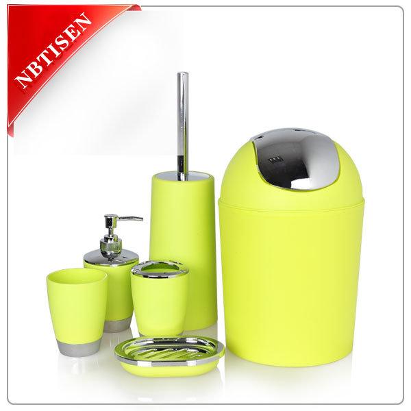 Acrylic/Plastic Bathroom Accessories Set (TS8010-6)