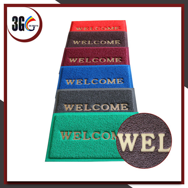 2017 Hot Selling PVC Door Mat in Different Thcikness (3G-4BE)