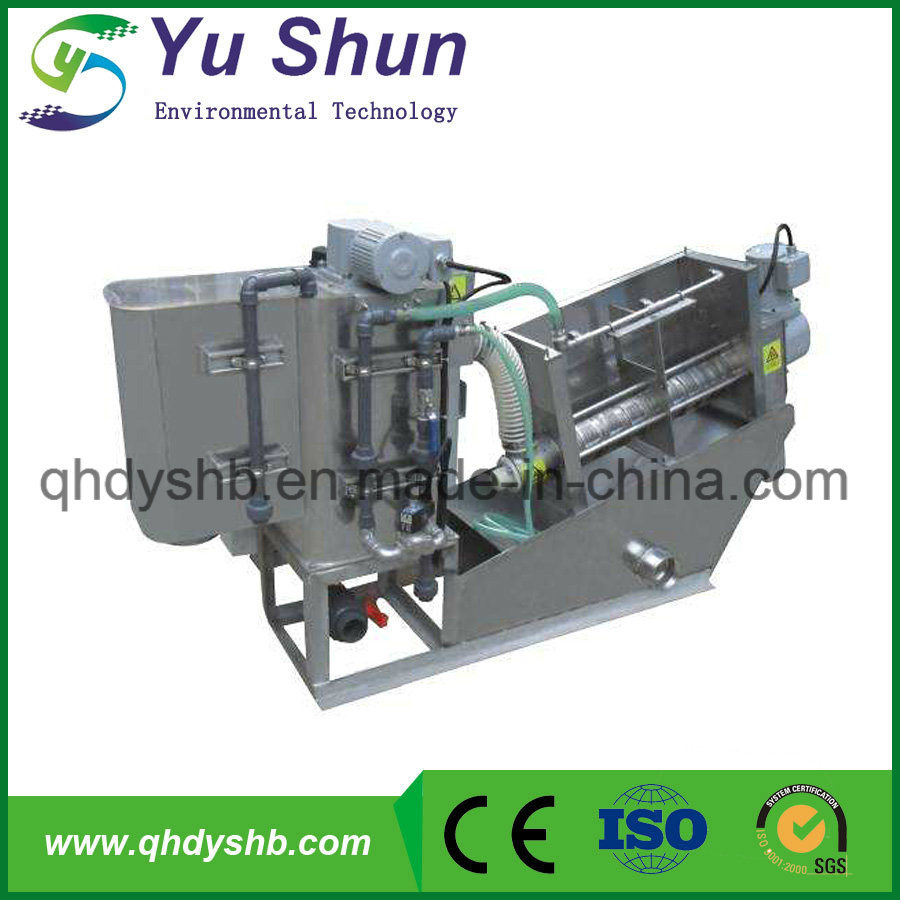 Multi-Plate Sewage Filter Press for Biochemical Pharmacy Sludge