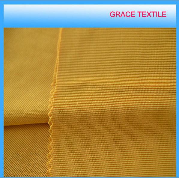 100% Polyester Knitting 1X1 Rib Fabric, Cuff Fabric, Jersey Fabric.