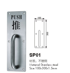 Stainless Steel Sign Plate with High Quality