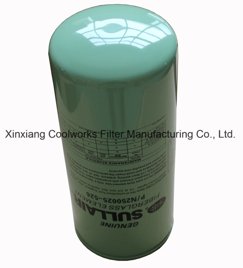 Spin on Oil Filter 250028-032 for Sullair Air Compressor